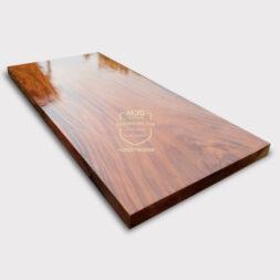daun meja top table kayu solid trembesi