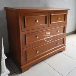 cabinet simple minimalis drawer dresser kayu
