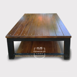 coffee table meja tamu industrial antik