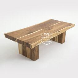 coffee table meja tamu sofa kayu trembesi solid
