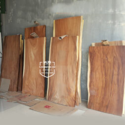 daun meja papan table top kayu solid trembesi suar