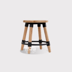 kursi cafe bar stool jati industrial