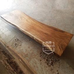 meja kayu trembesi suar besar panjang 5 meter