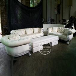 set sofa tamu chesterfield