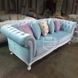 sofa chesterfield cantik