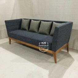 sofa modern longo minimalis kayu jati jepara