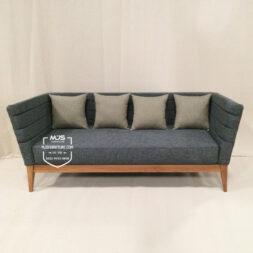 Sofa Modern Kayu Jati Minimalis Longo