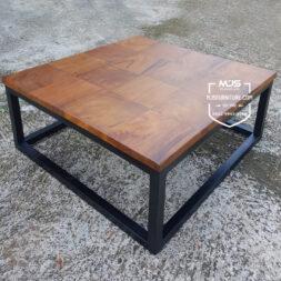coffee table meja tamu kayu trembesi