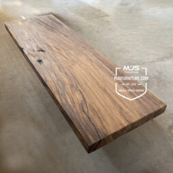 papan kayu table top rustic erosi antik trembesi jepara