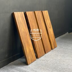 papan tangga kayu solid trembesi