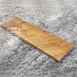 papan tangga kayu jati solid utuh