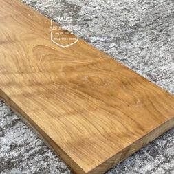 papan tangga kayu solid jati utuh