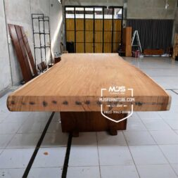 meja trembesi besar jumbo