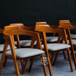 kursi cafe sandaran lengkung minimalis
